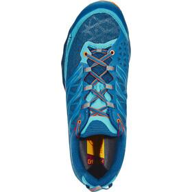 La Sportiva Akyra Running Shoes Herren ocean/flame